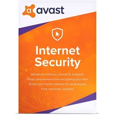 AVAST Internet Security 2021 код  (1 ГОД/ 1 ПК)