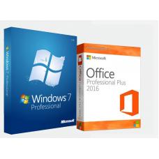Windows 7 Professional + Office 2016 Pro