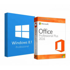 Windows 8.1 Professional + Office 2016 ProPlus