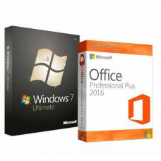 Windows 7 Ultimate + Office 2016 Pro